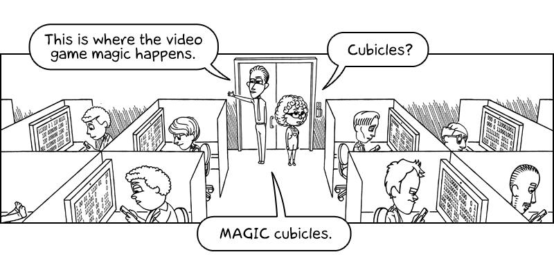 Geek Fortress, comic strip
